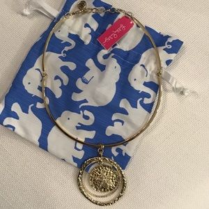 NWT Lilly Pulitzer Sandy Coin Necklace